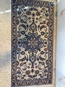 Persian Nain Rug- Wool Traditional Rug