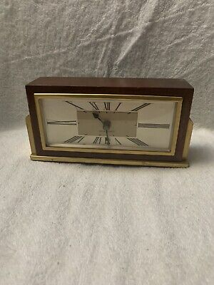 Vintage With Brass seth thomas mantle clock