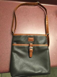 Brand New Leather Roots 73 Handbag For Sale