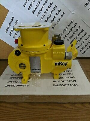 Milton Roy Mroy Metering Pump11d485 Anmonia 1001800 Psi New With Manual