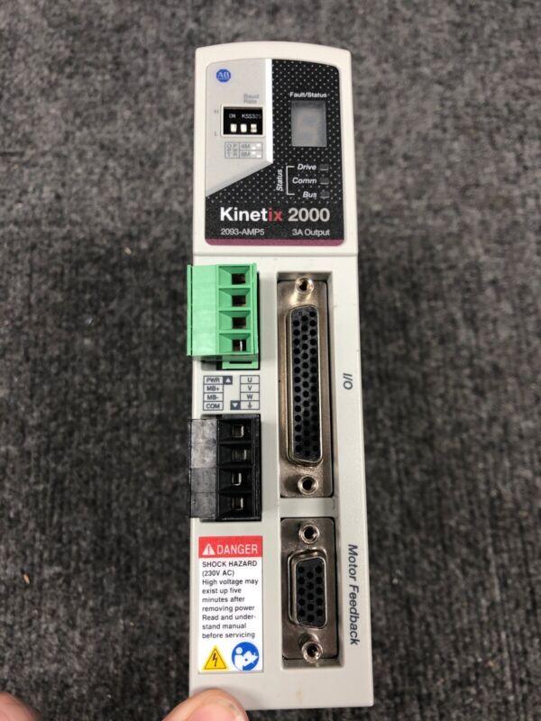 Allen Bradley Kinetix 2000 2093-AMP5 3A Output