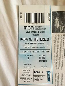 Bring Me The Horizon ticket Melbourne Huntly Bendigo Surrounds Preview