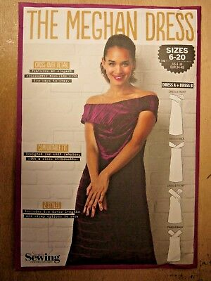SIMPLY SEWING pattern,  the MEGHAN dress pattern, 2 styles, 6- 20, BN