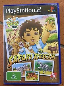 Playstation 2 Game - Go Diego Go! - Safari Rescue Albany Creek Brisbane North East Preview