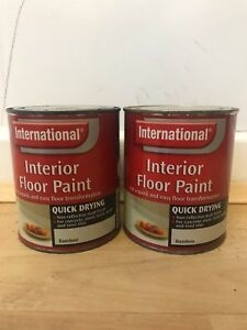 INTERNATIONAL Quick Drying Floor Paint - 1.5L - Bamboo - Neutral color 2 x 750ml