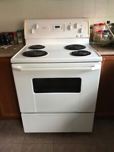 Whirlpool white stove /oven