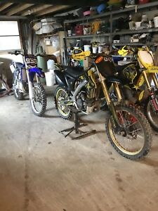 Mint 2010 rmz250  trade for 2008 and up hz125 or Kx250f 125