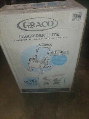 Graco SnugRider Elite Car Seat Carrier Lightweight Frame Travel Stroller Basket