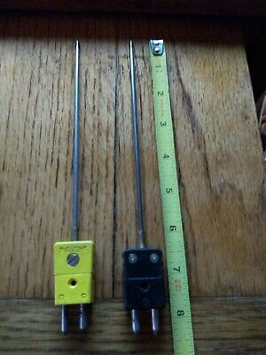 Thermocouple Probes With Attached Plug