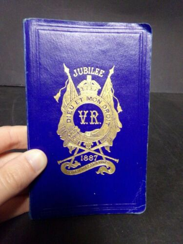 1887 Queen Victoria Jubilee New Testament Bible-Published by BFBS
