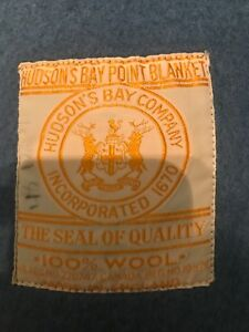Hudson Bay Point blanket