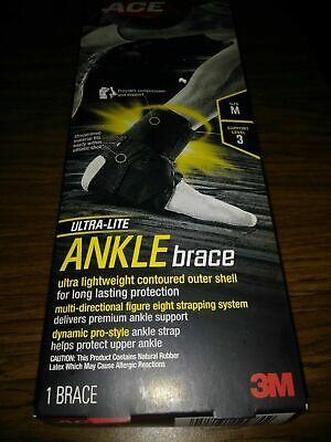 ACE Ultra-Lite Ankle Brace, 3M 1 BRACE Size M Support level 3