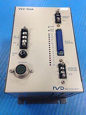 USED NSD VSV-103A -S11 CONTROLLER VSV-103 (J4)