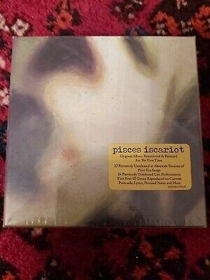 SMASHING PUMPKINS PISCES ISCARIOT DELUXE 2CD + DVD BOX SET RARO NUOVO...