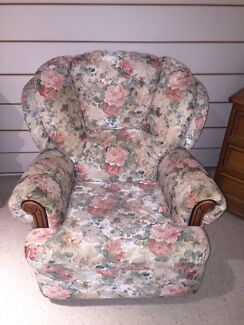 Floral Recliner Chair x 2 Robina Gold Coast South Preview