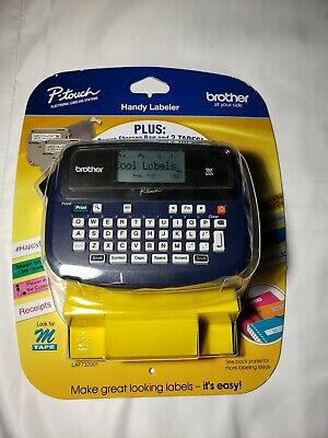 Brother Pt-45m Thermal Label Maker With Tape New In Package