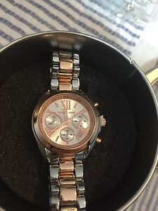 Mk Rose gold and silver