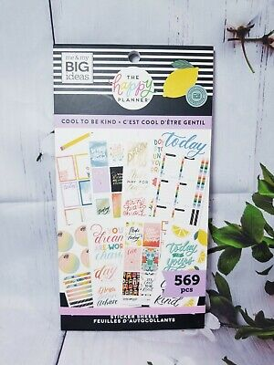 Cool To Be Kind Sticker Book Happy Planner New