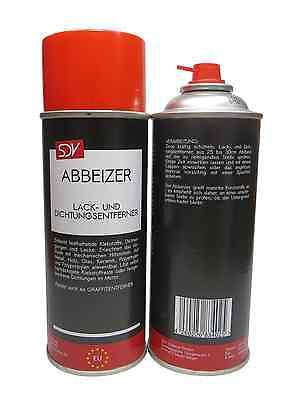 ABBEIZER 1x 400ml Lackentferner Dichtungsentferner Spray Dose Autolack KFZ PKW