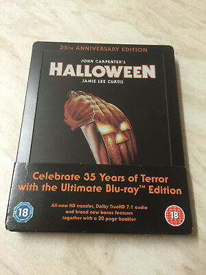 Halloween - 35th Anniversary Edition Blu-Ray - Limited Edition Steelbook - Halloween 35th Anniversary Edition