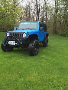 2011 lifted Jeep Wrangler