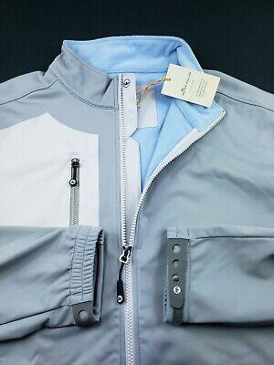Peter Millar Crown Sport Stretch Softshell Windproof Jacket 2XL $185