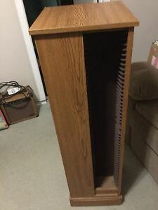 CD Stand. Great condition. Holds 184 cds. $30 Cambridge Kitchener Area image 1