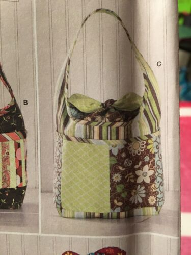 Simplicity 2169 Quillted Handbags Purse Shoulder Bags Shirley Botsford Designs - $4.99