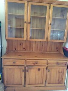 Timber display buffet and hutch Chatswood West Willoughby Area Preview