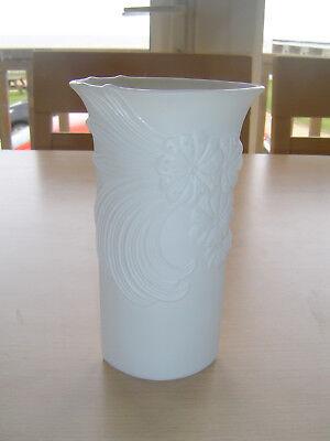 Kaiser Pottery White Vase - Signed M Frey Number 740/7