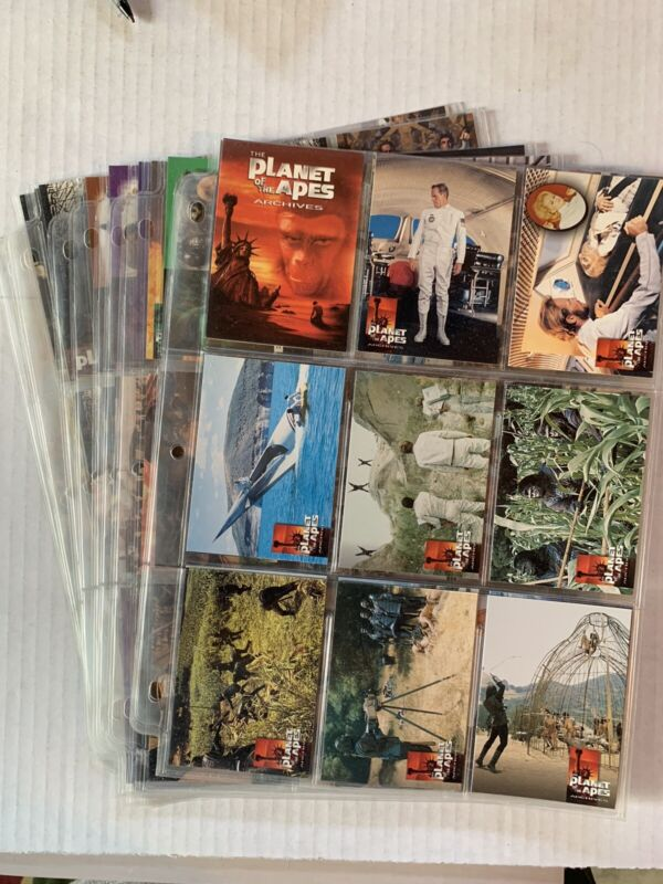 VINTAGE - Planet of The Apes Archives Vol 1 Trading Cards Complete Set w/ Promo