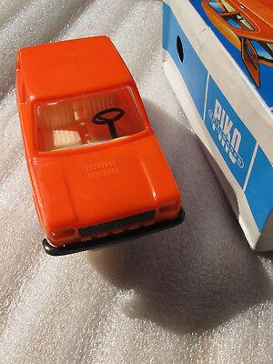 PIKO FIAT 127 Orange mit Box SCALE: 1/20 DDR Modell unbespielt mit Schachtel GDR
