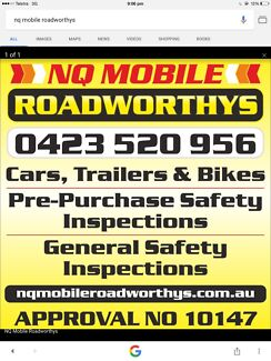 NQ MOBILE ROADWORTHYS (RWC) (SAFETY CERTIFICATE) TOWNSVILLE