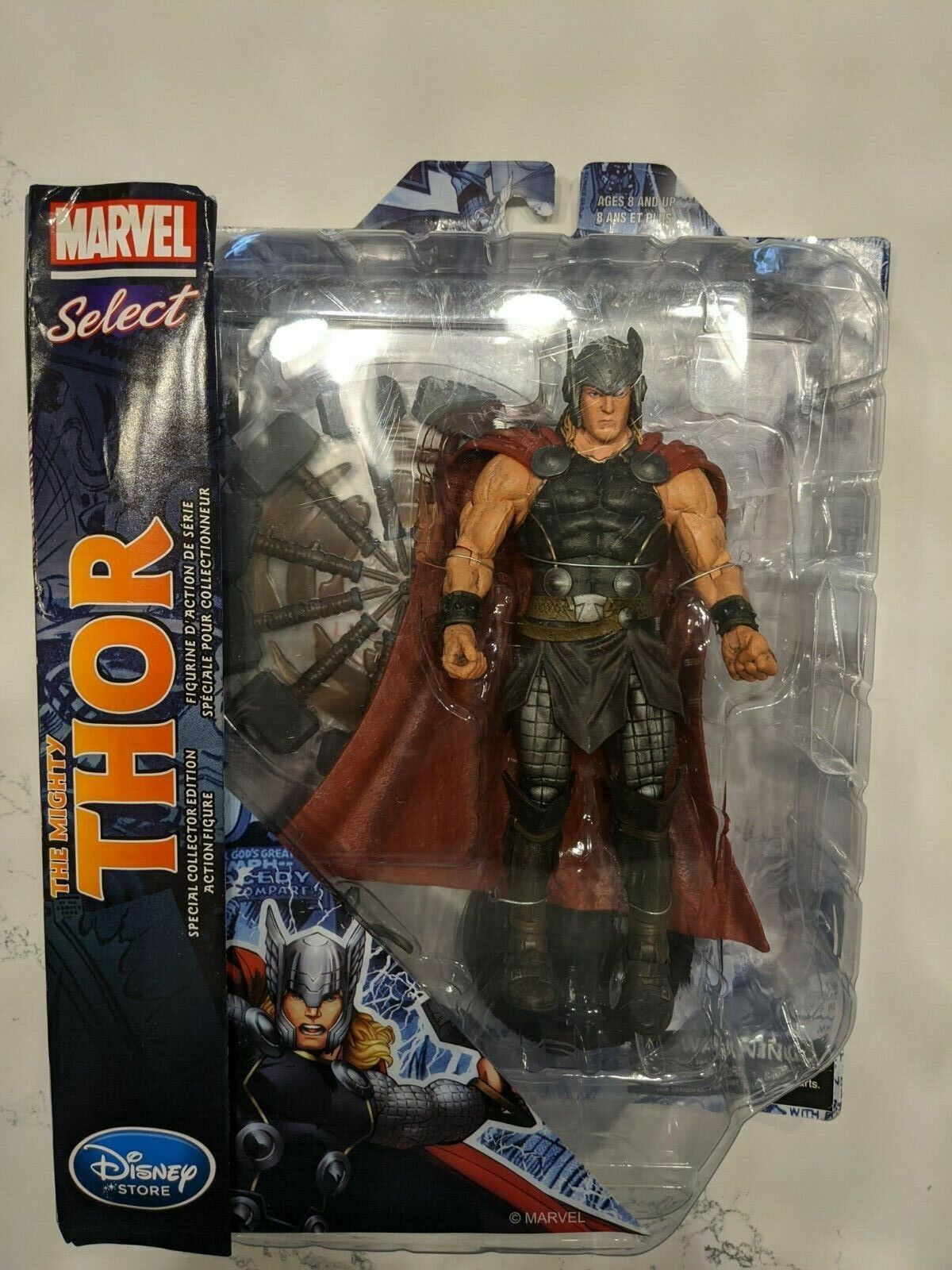 Marvel Select The Mighty Thor Disney Store Exclusive Diamond Action Figure