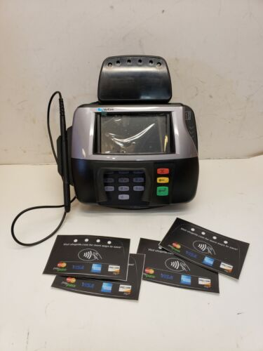 New Verifone MX 860 Credit Card Payment Terminal Reader Machine w/pen