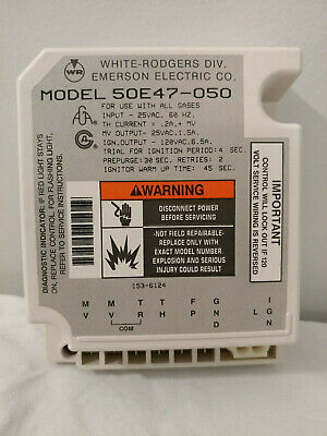 White Rodgers Ignition Control Model 50e47-050