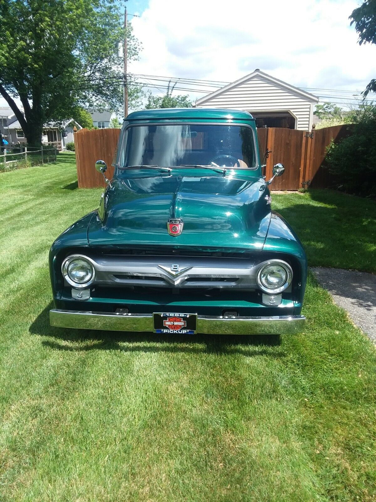 1955 ford f-100 pickup, Ford F-100, street rod, Hot Rod Other