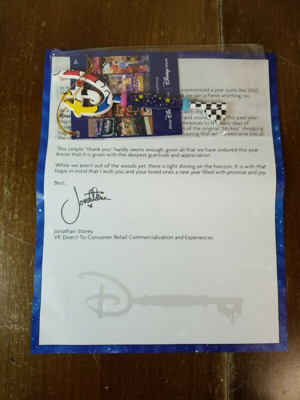 Disney Store Strong Collectors Key- Cast Member Exclusive