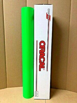Oracal 6510 1 Roll 24x5ft Fluorescent Green 069 Sign Vinyl