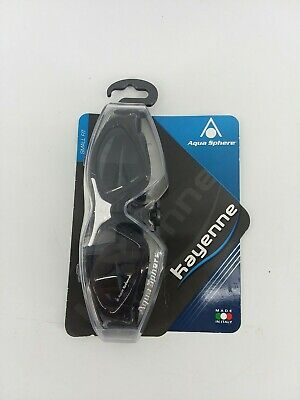 Aqua Sphere Black & White Kayenne Small Fit Tinted Lens Goggles