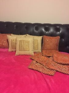 """Cushions 12"""" by 12""""  price reduced"""