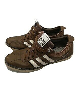 Vintage Rare Brown Adidas Vespas Trainers Size 8.5 UK Men's Shoes