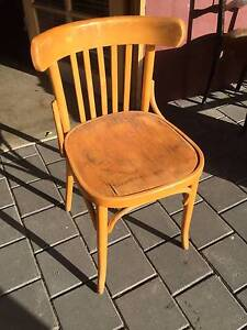 Bentwood chair needs work  Seat base is split.  $20 Kewdale Belmont Area Preview