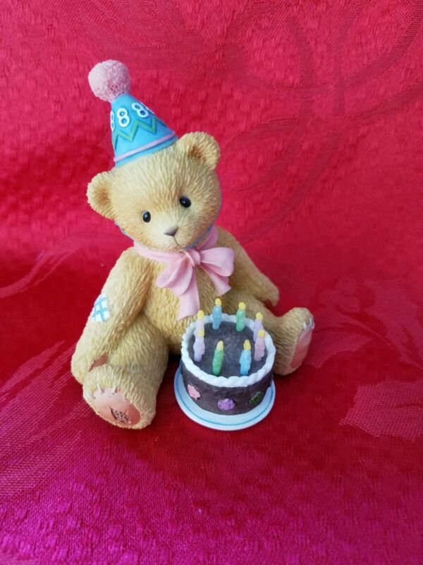 """Cherished Teddies Enesco """"Being Eight is Really Great"""""""