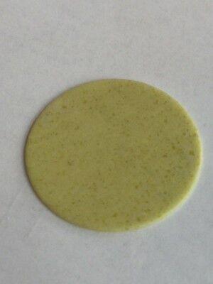 Genuine Gemstone Watch Dial/Disc - Lemon Stone 40 MM
