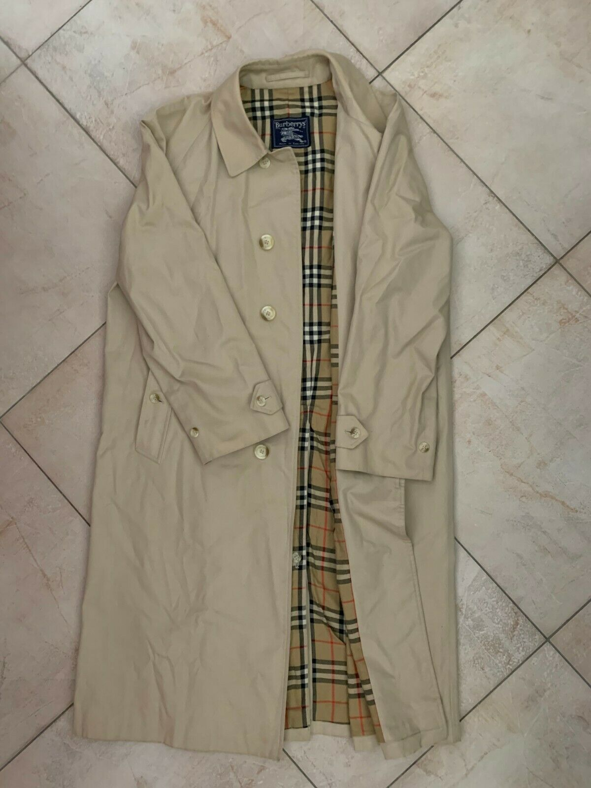 Burberry trench-coat/imperméable vintage 80's size/taile 52