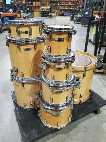 TAYE 8 Piece Studio Maple Natural Wood Drum Kit with Hardware