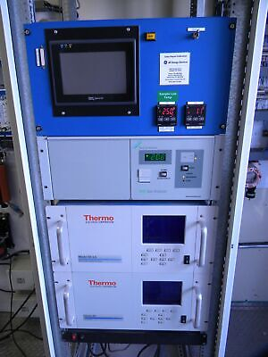 Cemtek Cems With Thermo 42i Nox Thermo 48i Co Servomex 1440 O2 Analyzers More