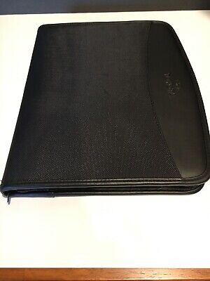 Toyota Logo Leeds Padfolio Zippered Closure Notebook With Pen New With Tag
