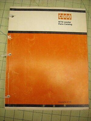 W7e Case Loader Parts Manual A1142 Pay Loader